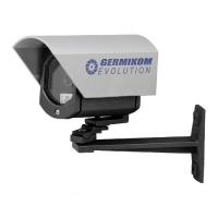 Germikom F 250 EVOLUTION10 Цветные уличные камеры видеонаблюдения Germikom со встроенным объективом